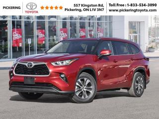 New 2021 Toyota Highlander Highlander XLE AWD for sale in Pickering, ON