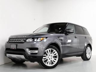 Used 2017 Land Rover Range Rover Sport Td6 HSE I 7-PASS I PANO I NAVI I 21 IN WHEELS for sale in Vaughan, ON