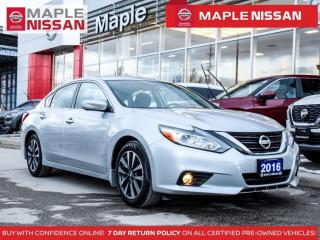 Used 2016 Nissan Altima SV Backup Camera Bluetooth Heated Seats Blind Spot for sale in Maple, ON
