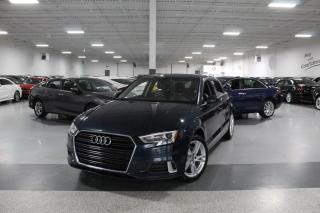 Used 2017 Audi A3 NO ACCIDENTS I LEATHER I SUNROOF I HEATED SEATS I BLUETOOTH for sale in Mississauga, ON