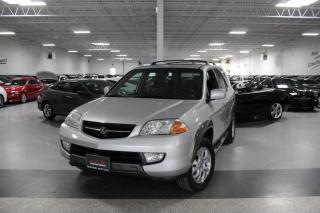 Used 2003 Acura MDX SPORT UTILITY I LEATHER I SUNROOF I HEATED SEATS I AS IS for sale in Mississauga, ON