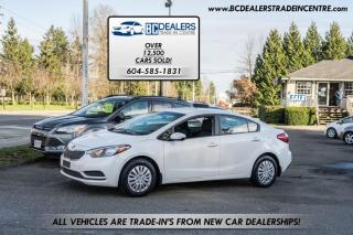 Used 2014 Kia Forte Sedan, Local, No Declarations, Only 126,000kms, Bluetooth! for sale in Surrey, BC