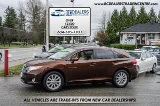Used 2009 Toyota Venza AWD, Local, No Declarations, Leather, Sunroof, Alloys! for sale in Surrey, BC