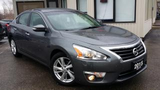 Used 2015 Nissan Altima 2.5 SL TECH - LEATHER! NAV! BACK-UP CAM! BSM! REMOTE START! for sale in Kitchener, ON