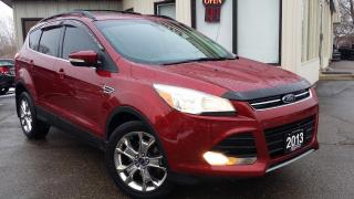 Used 2013 Ford Escape SEL 4WD - LEATHER! NAV! REMOTE START! PARK SENSORS! for sale in Kitchener, ON