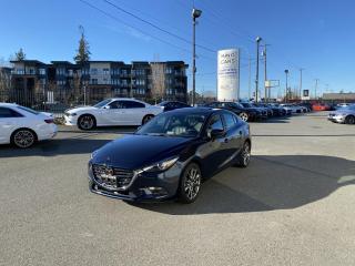Used 2018 Mazda MAZDA3 GT Sedan AUTONOMOUS BRAKING for sale in Langley, BC