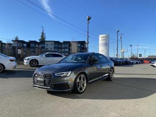Used 2018 Audi A4 Progressiv S-Line for sale in Langley, BC