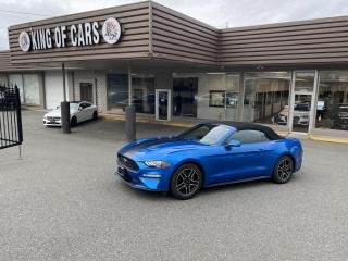 Used 2020 Ford Mustang EcoBoost Premium Convertible for sale in Langley, BC