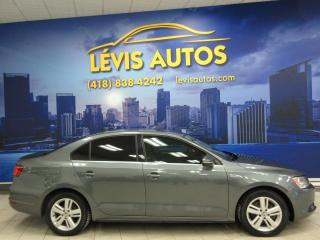 Used 2013 Volkswagen Jetta HYBRIDE TSI 70900 KM AUTOMATIQUE CUIR TO for sale in Lévis, QC