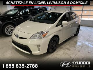 Used 2015 Toyota Prius GARANTIE + CAMERA A/C + CRUISE + WOW !! for sale in Drummondville, QC