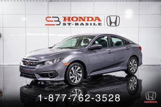 Used 2018 Honda Civic SE + A/C + CRUISE + CAMERA + MAGS + WOW! for sale in St-Basile-le-Grand, QC