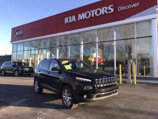 Used 2014 Jeep Cherokee Limited for sale in Charlottetown, PE