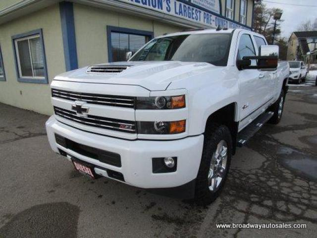 "2019 Chevrolet Silverado 2500 3/4 TON - DEISEL LTZ-Z71 EDITION 5 PASSENGER 6.6L - DURAMAX.. 4X4.. CREW-CAB.. 6.6"" FOOT-BOX.. NAVIGATION.. LEATHER.. BACK-UP CAMERA.. POWER MIRRORS.."