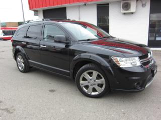 Used 2012 Dodge Journey R/T $8,995+HST+LIC FEE / LOADED / 7 PASSENGER / CERTIFIED for sale in North York, ON