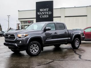 Used 2017 Toyota Tacoma SR5|DOUBLE CAB|CAMERA|HEATED SEATS|XENONS|ALLOYS|FOG LIGHTS for sale in Kitchener, ON