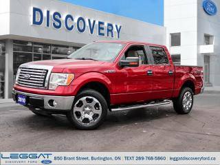 Used 2010 Ford F-150 XLT SuperCrew 4WD for sale in Burlington, ON