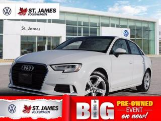Used 2017 Audi A3 2.0T Komfort, One Owner, Heated Seats, Power Sunroof for sale in Winnipeg, MB