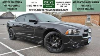 Used 2014 Dodge Charger SXT Low K's Heated Leather Sun Roof Bluetooth for sale in Belle River, ON