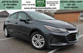 Used 2019 Chevrolet Cruze LT CarPlay Bluetooth OnStar Backup Cam Remote Start for sale in Belle River, ON