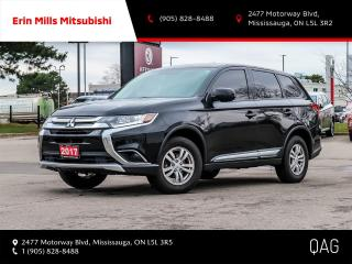 Used 2017 Mitsubishi Outlander ES AWC|NO ACCIDENTS|CAMERA|BLUETOOTH|SERVICE RECORDS for sale in Mississauga, ON