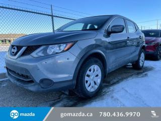 Used 2017 Nissan Qashqai S - FWD, MANUAL, HEATED SEATS, BLUETOOTH, GREAT VALUE!!! for sale in Edmonton, AB