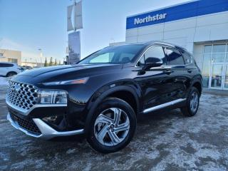 New 2021 Hyundai Santa Fe TREND-BLUELINK/WIRELESS APPLE CARPLAY AND ANDROID AUTO/LEATHER/SUNROOF/SMARTSENSE/ for sale in Edmonton, AB