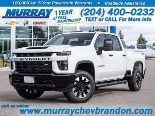New 2021 Chevrolet Silverado 2500 HD Custom for sale in Brandon, MB
