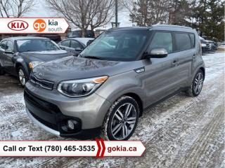 Used 2018 Kia Soul EX PREMIUM; PANORAMIC SUNROOF, HEATED SEATS, CAR STARTER, A/C, LEATHER, BACKUP CAMERA, BUTTON START, ANDROID AUTO, APPLE CARPLAY, BLUETOOTH for sale in Edmonton, AB