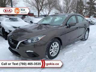 Used 2015 Mazda MAZDA3 GSGS SPORT; AUTOMATIC, HEATED SEATS, A/C, BACKUP CAMERA, BLUETOOTH for sale in Edmonton, AB