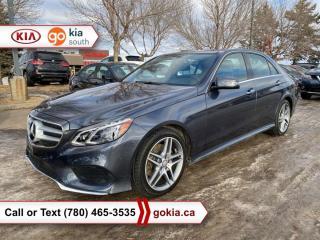 Used 2016 Mercedes-Benz E-Class E400 4MATIC; PANORAMIC SUNROOF, AWD, HEATED SEATS/WHEEL, LEATHER, NAV, HARMAN/KARDON, BACKUP CAMERA, BLUETOOTH for sale in Edmonton, AB