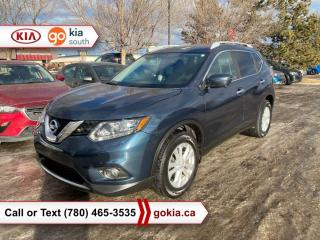 Used 2016 Nissan Rogue SV; PANORAMIC SUNROOF, AWD, HEATED SEATS, A/C, LEATHER, NAV, BACKUP CAMERA, BUTTON START, BLUETOOTH for sale in Edmonton, AB