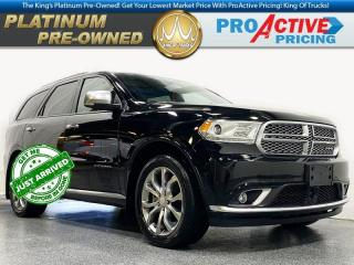 Used 2017 Dodge Durango Citadel Platinum for sale in Virden, MB