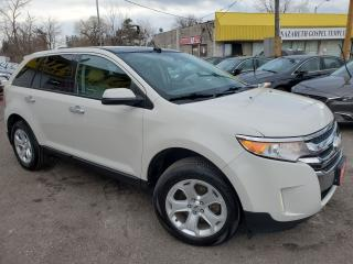 Used 2011 Ford Edge SEL/NAVI/CAMERA/LEATHER/ROOF/LOADED/ALLOYS++ for sale in Scarborough, ON