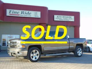 Used 2014 Chevrolet Silverado 1500 LTZ **SOLD** for sale in West Saint Paul, MB