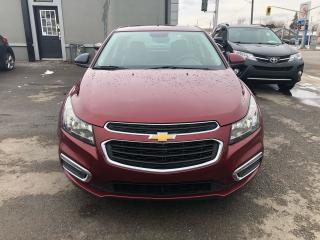 Used 2016 Chevrolet Cruze LT**SUNROOF*BACK-UP CAMERA*BLUETOOTH** for sale in Hamilton, ON