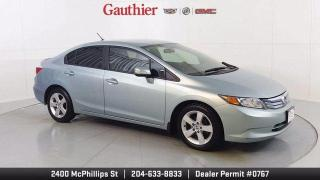 Used 2012 Honda Civic Hybrid 4Dr., Navigation , Auto. Trans., Loaded!! Nice!! for sale in Winnipeg, MB