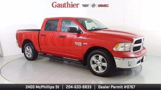 Used 2019 RAM 1500 Classic Crew Cab SXT+ 4x4, 5.7L Hemi, Loaded, 20 Wheels for sale in Winnipeg, MB