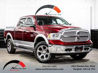 Used 2017 RAM 1500 Crew Cab/Laramie/HEMI/Navigation/Leather for sale in Vaughan, ON