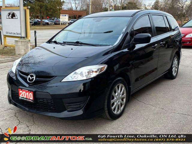 2010 Mazda MAZDA5 GS|NO ACCIDENT|SINGLE OWNER|WARRANTY|CERTIFIED