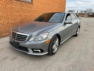 Used 2011 Mercedes-Benz E-Class E 550 4Matic Navigation for sale in Oakville, ON