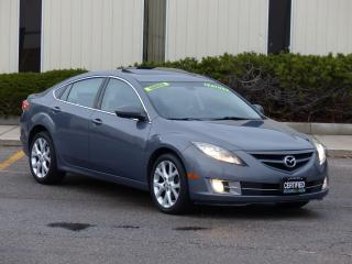 Used 2009 Mazda MAZDA6 LEATHER,GT,BLINDSPOT DETECTION,NO-ACCIDENT,CERTIFI for sale in Mississauga, ON