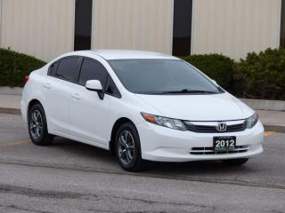 Used 2012 Honda Civic SPORT RIMS,BLUETOOTH,NO-ACCIDENT,CERTIFIED,LOADED for sale in Mississauga, ON