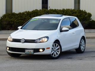 Used 2011 Volkswagen Golf 2.5 SPORTLINE,SUNROOF,HEATED SEAT,LOADED,CERTIFIED for sale in Mississauga, ON