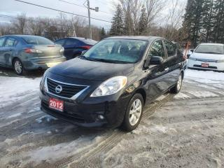 Used 2012 Nissan Versa 1.6 SL SEDAN SUPER LOW KMS w/ NAVIGATION CERTIFIED for sale in Stouffville, ON