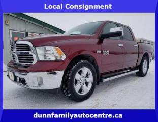 Used 2017 RAM 1500 Big Horn LOCAL CONSIGNMENT for sale in Dugald, MB