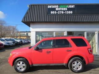 Used 2011 Ford Escape XLT, 4 WHEEL DRIVE, SUPER LOW KM, 1 OWNER for sale in Mississauga, ON