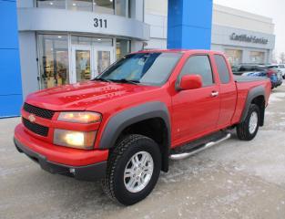 Used 2009 Chevrolet Colorado LT 4WD/ REMOTE START/ TONNEAU COVER/ LOCAL TRADE for sale in Estevan, SK