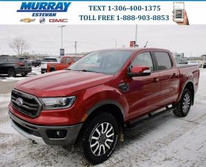 Used 2020 Ford Ranger LARIAT 4WD/ HEATED LEATHER/ REMOTE START/ TOW PKG/ for sale in Estevan, SK