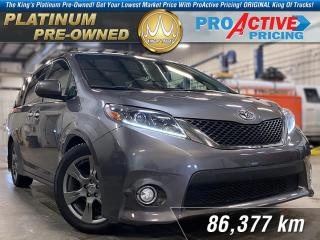 Used 2017 Toyota Sienna SE FWD 8-Passenger for sale in Rosetown, SK
