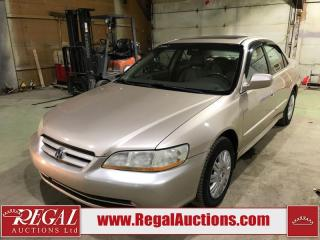 Used 2001 Honda Accord 4D Sedan for sale in Calgary, AB